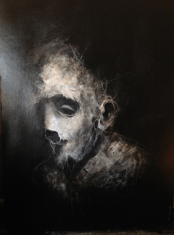 Dark abstract portraits by Eric Lacombe - Bleaq