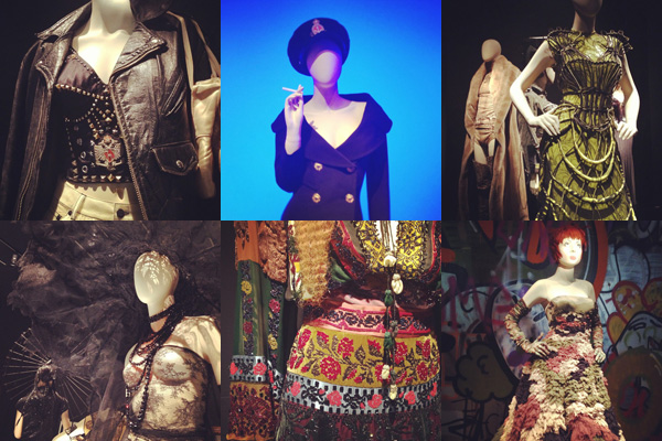 Personal post: Instagram report – The Fashion World of Jean Paul Gaultier at the Kunsthal, Rotterdam