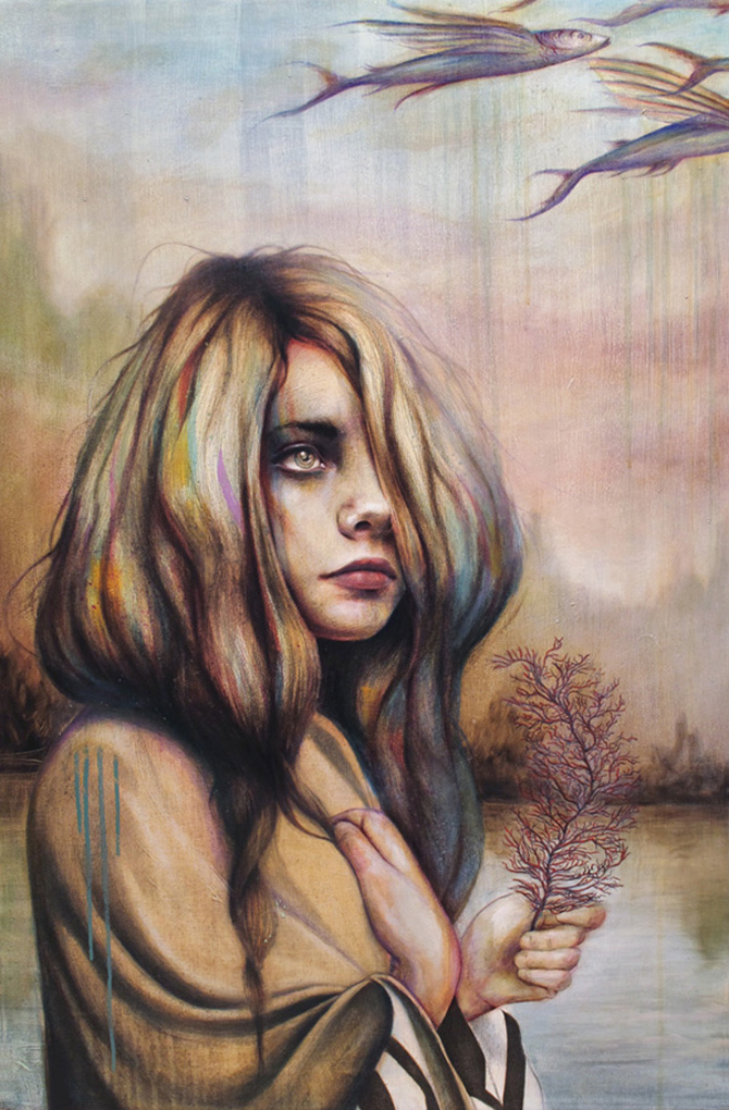 Fierce warriors portrayed by Michael Shapcott