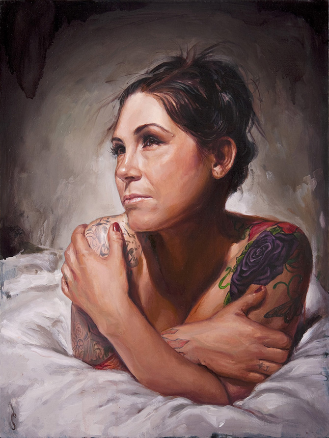 A Look Into Tattoo Culture As Painted By Shawn Barber Bleaq